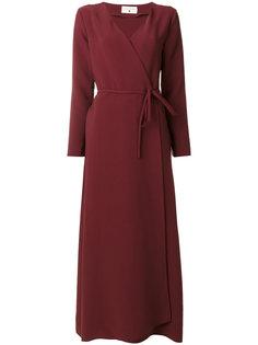 платье с запахом  Daniela Pancheri