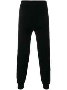 спортивные брюки с контрастными панелями Neil Barrett