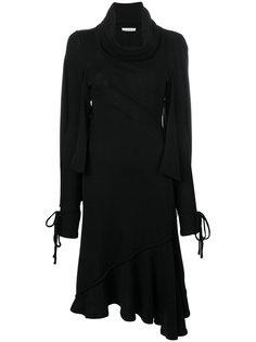 асимметричное трикотажное платье  JW Anderson