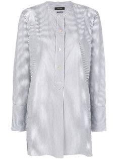 рубашка в полоску без воротника  Isabel Marant