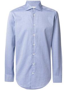 рубашка строгого кроя с мелким узором Etro