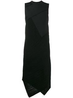 Sleeveless Spiral Knit Dress Proenza Schouler