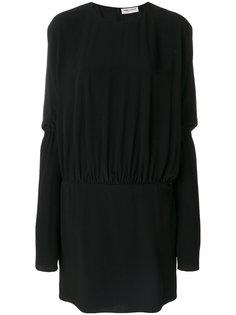 классическое платье шифт Saint Laurent