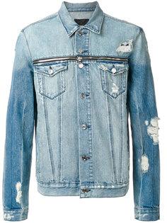джинсовая куртка с рваными деталями Rta