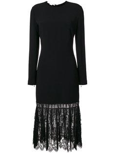платье с кружевной отделкой  Stella McCartney