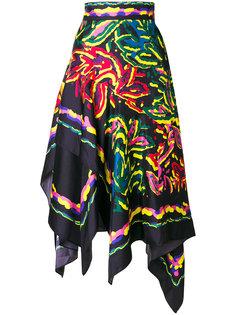 юбка с платочным принтом  Peter Pilotto