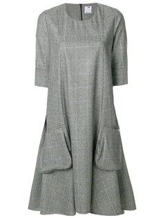 расклешенное вязаное платье Ultràchic