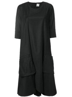 расклешенное трикотажное платье Ultràchic