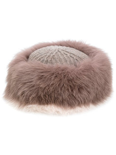 меховая шапка Agnona