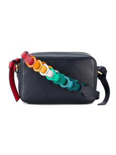 мини сумка через плечо с радужной лямкой Anya Hindmarch