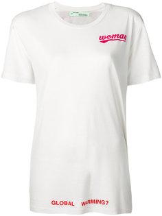 футболка с розой Off-White