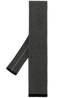 галстук с плетеным узором Tom Ford