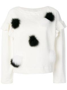 блузка с оборками  Si-Jay