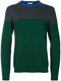 свитер дизайна колор-блок Sun 68
