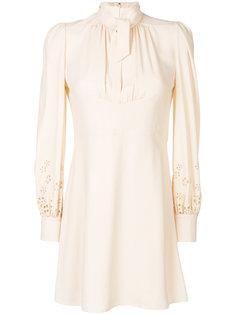 платье с высоким воротником Chloé