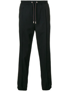 брюки с присборенными манжетами Dior Homme