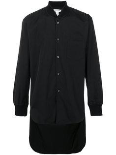 удлиненная рубашка с шалевым воротником Comme Des Garçons Shirt