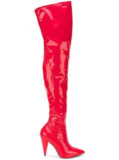ботфорты с заостренным носком Stella Luna