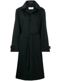 пальто с поясом Oamc