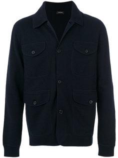 куртка с накладными карманами Ermenegildo Zegna