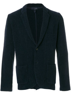 пиджак в рубчик с накладными карманами Lardini