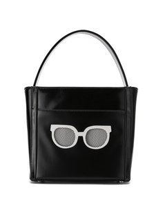 leather tote bag Sarah Chofakian