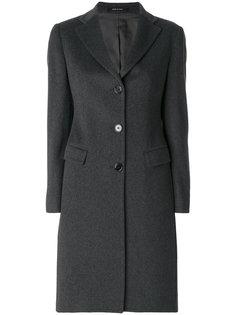 однобортное прямое пальто Tagliatore