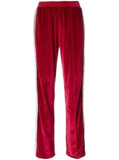 брюки с контрастной полоской Forte Couture