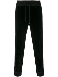 прямые бархатные брюки Ermanno Scervino