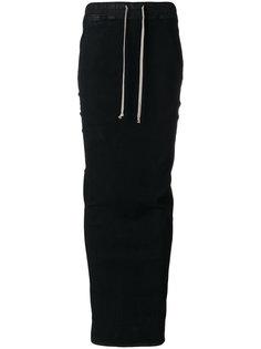 юбка на шнурке Rick Owens DRKSHDW
