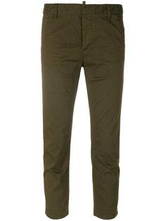 укороченные брюки  Cool Girl Dsquared2