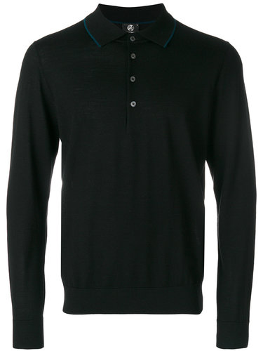 рубашка-поло с длинными рукавами Ps By Paul Smith
