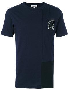 футболка с принтом glyph icon  McQ Alexander McQueen