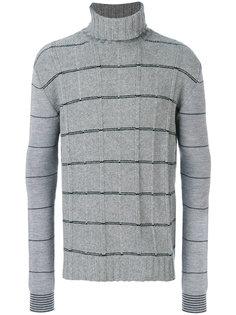 свитер с отворотной горловиной McQ Alexander McQueen