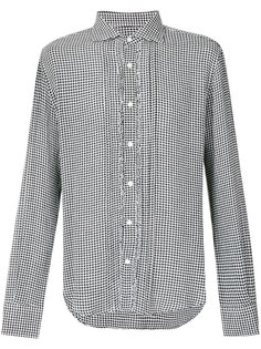рубашка с узором в ломаную клетку Ermanno Scervino