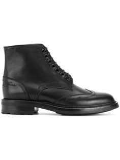 ботинки на шнуровке William 24 Wingtip Saint Laurent