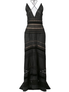 платье с вырезом-халтер Roland Mouret