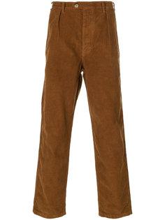 брюки из вельвета Suedois Bleu De Paname