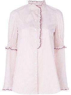 блузка с вышитыми зазубренными краями See By Chloé