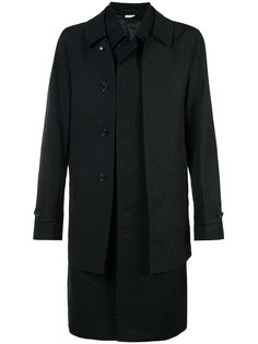 многослойное твидовое пальто Comme Des Garçons Homme Plus