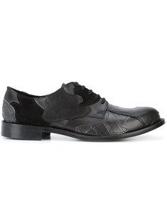 туфли в стиле пэчворк Comme Des Garçons Homme Plus