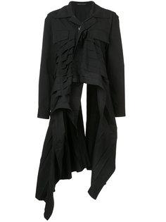 плиссированное пальто Yohji Yamamoto