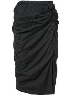 юбка со сборками Yohji Yamamoto