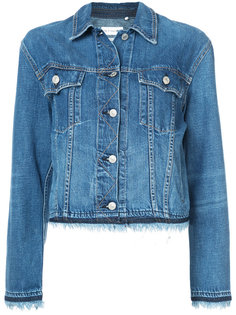 fringed trim denim jacket Rag & Bone