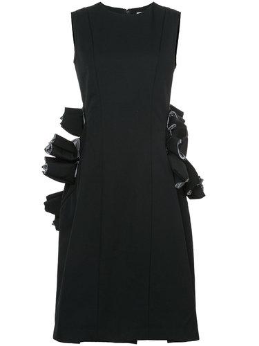 платье с деталями из органзы Comme Des Garçons