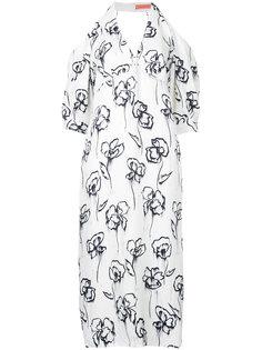 платье с открытыми плечами Washer Rose Manning Cartell