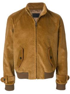 вельветовая куртка Prada