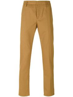 брюки-чинос с подвернутыми манжетами Dondup