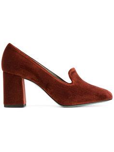туфли на массивном каблуке Paola Darcano