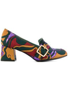 туфли с декоративной пряжкой Paola Darcano